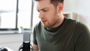 Podcasting mics